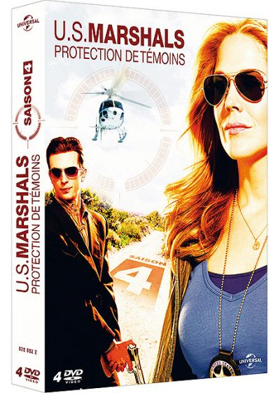 U.S. Marshals, protection de témoins - Saison 4 - DVD