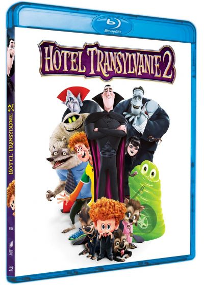 Hôtel Transylvanie 2 (Blu-ray + Copie digitale) - Blu-ray