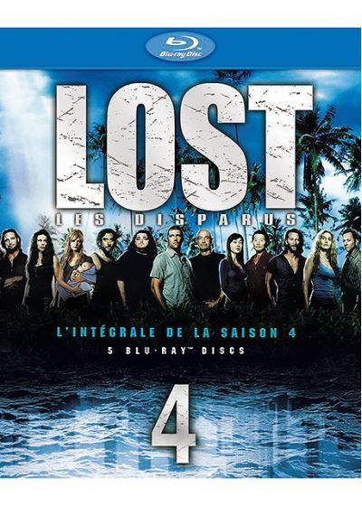 Lost, les disparus - Saison 4 - Blu-ray