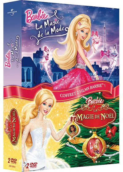 Barbie - La magie de la mode + Barbie et la magie de Noël (Pack) - DVD