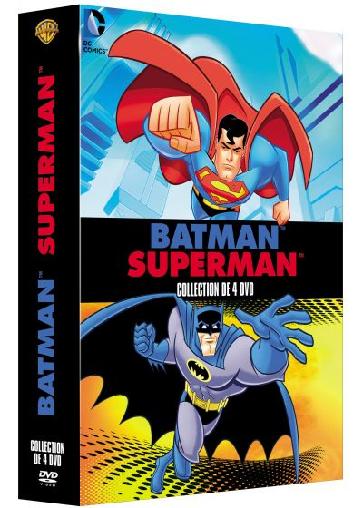 Batman Superman - Collection de 4 DVD (Pack) - DVD