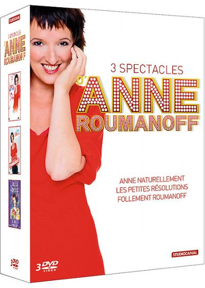 3 spectacles Anne Roumanoff (Pack) - DVD