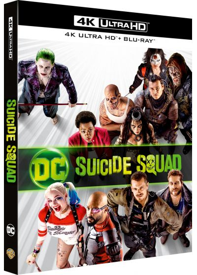 Suicide Squad (4K Ultra HD + Blu-ray Extended Edition + Digital HD) - 4K UHD