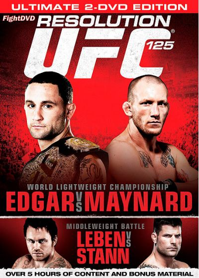 UFC 125 : Resolution - DVD