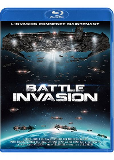 Battle Invasion (Combo Blu-ray + DVD) - Blu-ray