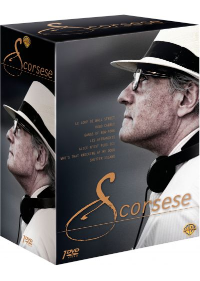 Scorsese : Le loup de Wall Street + Hugo Cabret + Gangs of New York + Les affranchis + Alice n'est plus ici + Who's That Knocking At My Door + Shutter Island (Édition Limitée) - DVD