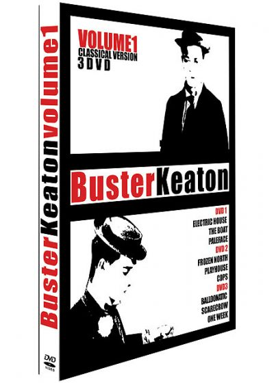 Buster Keaton Classical Version - Vol. 1 - DVD