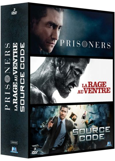 Coffret Jake Gyllenhaal : Prisoners + La rage au ventre + Source Code (Pack) - DVD