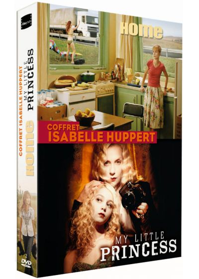 Coffret Isabelle Huppert : Home + My Little Princess (Pack) - DVD