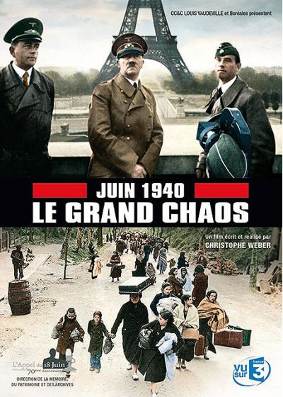 Juin 1940 : le grand chaos - DVD