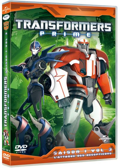 Transformers Prime - Volume 3 : L'attaque des Decepticons - DVD