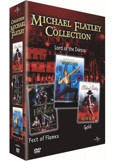 Michael Flatley Collection - Lord of the Dance + Feet of Flames + Gold - DVD