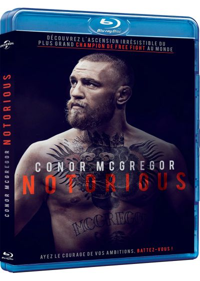 Conor McGregor - The Notorious - Blu-ray