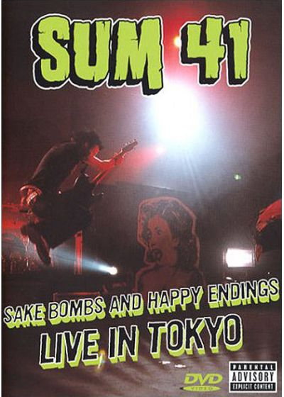 Sum 41 - Sake Bombs and Happy Endings, Live in Tokyo - DVD