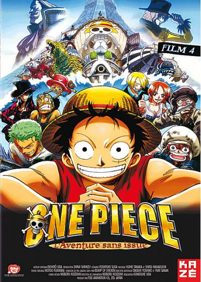One Piece - Le Film 4 : L'aventure sans issue - DVD