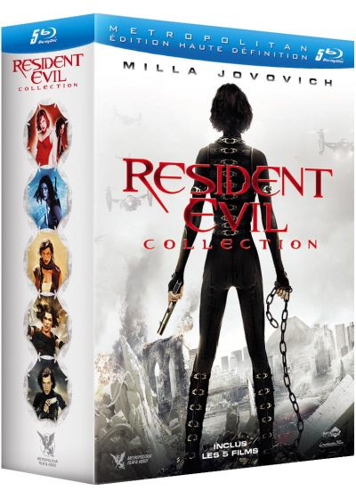 Resident Evil Collection (Coffret 5 films) - Blu-ray