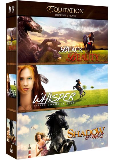 Equitation : Black Beauty + Whisper - Libres comme le vent + Shadow & moi (Pack) - DVD