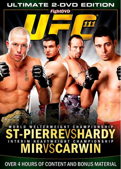 UFC 111 : St-Pierre vs Hardy - DVD