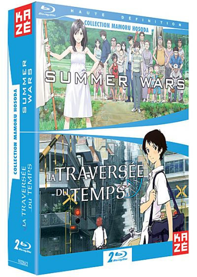 Summer Wars + La traversée du temps (Pack) - Blu-ray