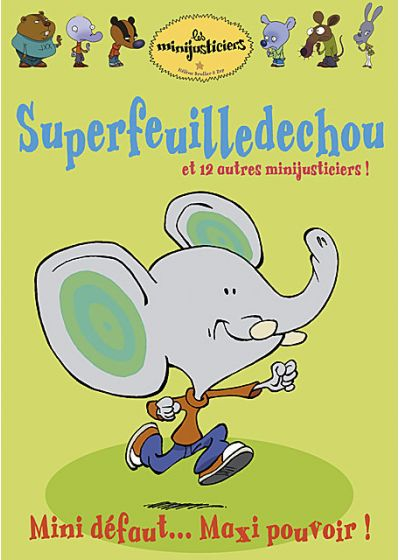 Les Minijusticiers - Vol. 4 : Superfeuilledechou - DVD