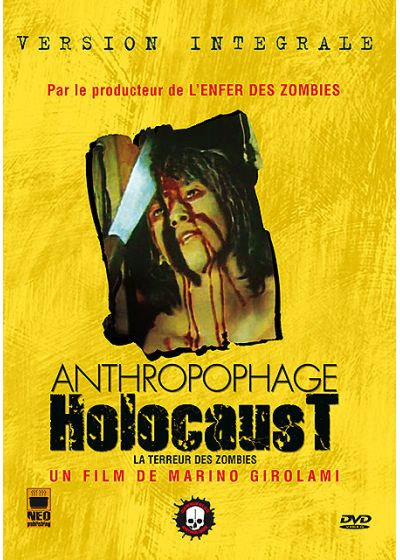 Anthropophage Holocaust (Version intégrale) - DVD