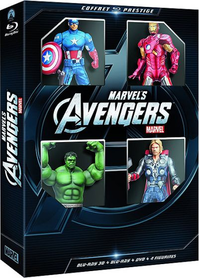 Avengers (Combo Blu-ray 3D + Blu-ray + DVD - Exclusivité Amazon.fr) - Blu-ray 3D