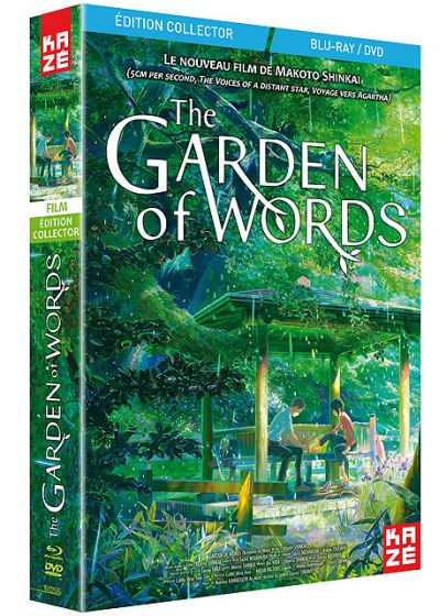 Garden of Words (Édition Collector Blu-ray + DVD) - Blu-ray