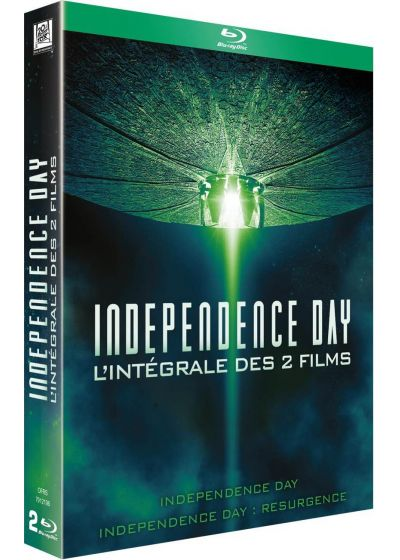 Independence Day + Independence Day : Resurgence - Blu-ray