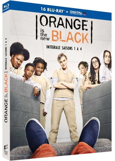 Orange Is the New Black - Intégrale saisons 1 à 4 (Blu-ray + Copie digitale) - Blu-ray