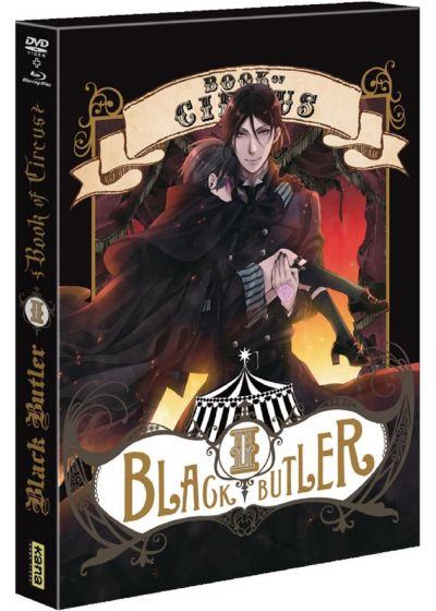 Black Butler : Book of Circus - Vol. 2 - Blu-ray