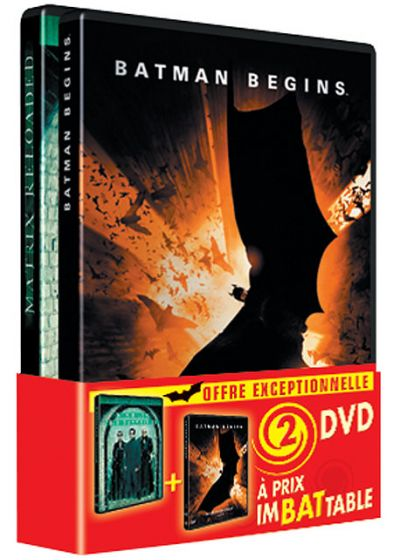 Batman Begins + Matrix Reloaded (Pack) - DVD