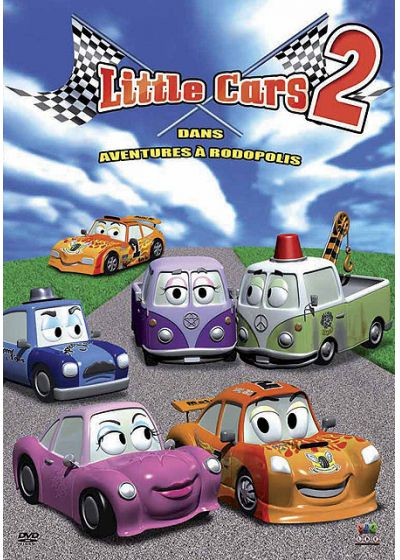 Little Cars 2 : Aventures à Rodopolis - DVD