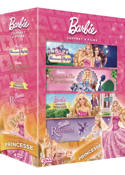 Barbie - Coffret 4 films : Collection Princesse (Pack) - DVD