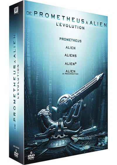 De Prometheus à Alien, l'évolution - DVD