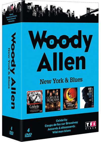Woody Allen - Coffret - New York & Blues (Pack) - DVD
