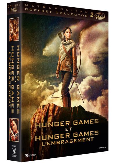 Hunger Games + Hunger Games 2 : L'embrasement (Édition Collector) - DVD