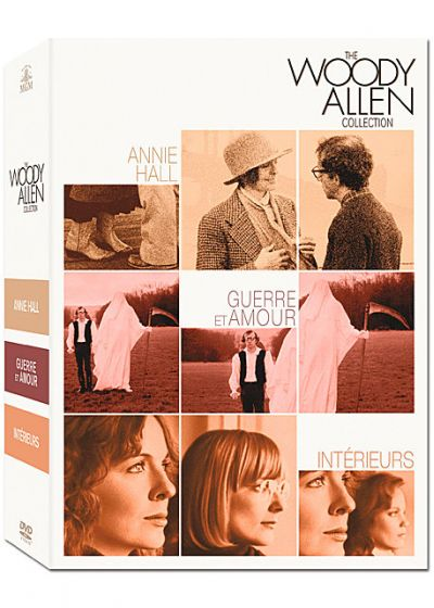 The Woody Allen Collection : Annie Hall + Guerre et amour + Intérieurs (Pack) - DVD