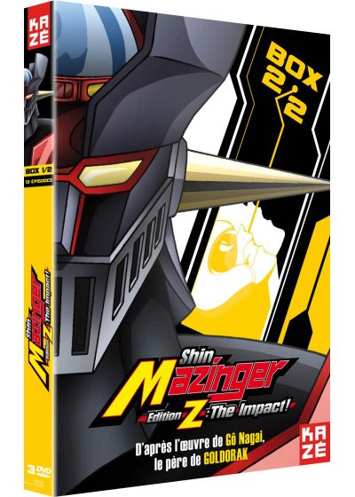 Shin Mazinger - Edition Z : The Impact ! - Box 2/2 - DVD