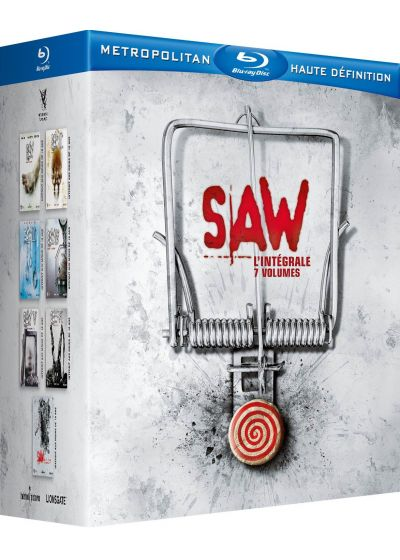 Saw : L'intégrale 7 volumes (Director's Cut) - Blu-ray