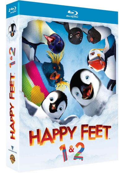 Happy Feet + Happy Feet 2 - Blu-ray