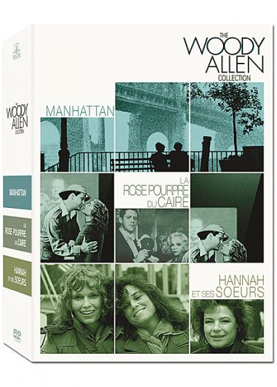The Woody Allen Collection : Manhattan + La Rose pourpre du Caire + Hannah et ses soeurs (Pack) - DVD