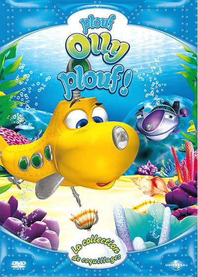 Plouf Olly Plouf ! - 4 - La collection de coquillages - DVD