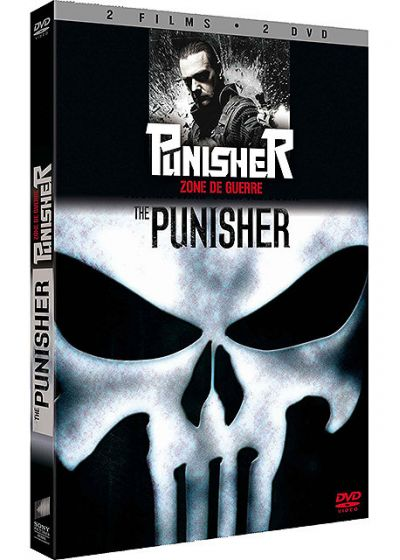 The Punisher + Punisher - Zone de guerre (Pack) - DVD