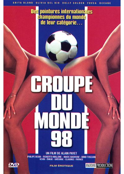 Croupe du monde 98 (Version soft) - DVD