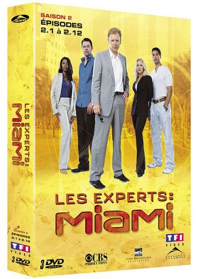 Les Experts : Miami - Saison 2 Vol. 1 - DVD