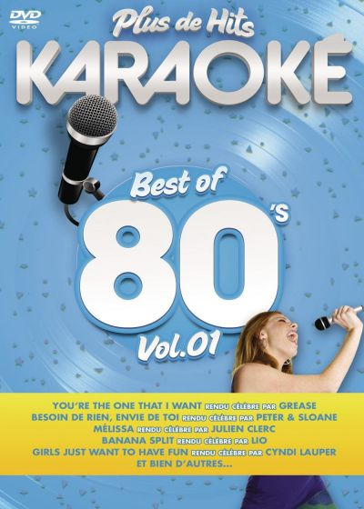 Plus de hits karaoké : Best of 80's - Vol. 1 - DVD