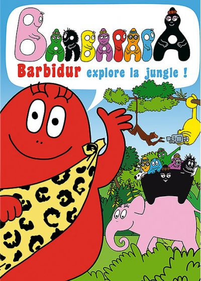 Barbapapa - Barbidur explore la jungle ! - DVD