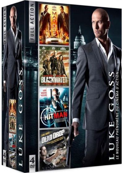Luke Goss : Mad Dog + Blackwater + Interview with a Hitman + Dead Drop (Pack) - DVD