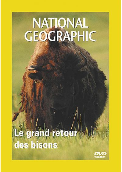 National Geographic - Le grand retour des bisons - DVD