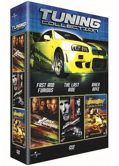 Tuning Collection - Fast and Furious + The Last Ride + Biker Boyz - DVD